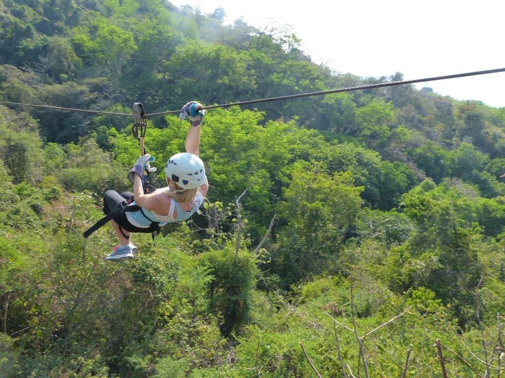 ziplining in costa rica